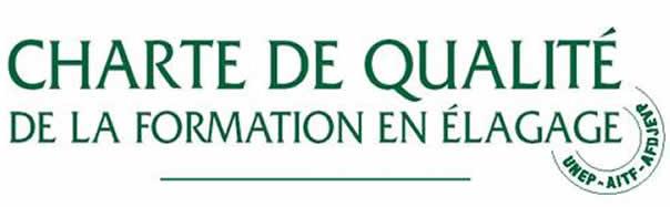 """Logo La charte de qualité """"Formation en élagage"""" de l"""